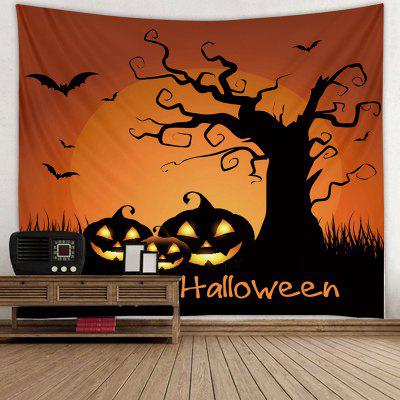Abstract Halloween Style Print Tapestry