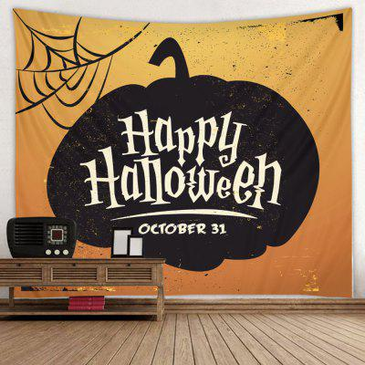 Happy Halloween Letters Pattern Печать Гобелен