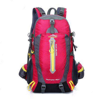 HUWAIJIANFENG Waterproof Nylon Men's Outdoor Travel Bag 40L Capacity