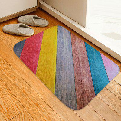 Color Wood Grain Pattern Background Floor Mat Carpet