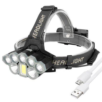 Brelong K71 USB Rechargeable LED Sensor Fishing Headlight