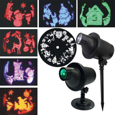 Outdoor afstandsbediening 3D projectie gazonlamp