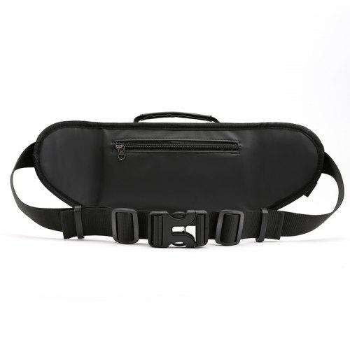 Personality Men Waist Pack Temperament Bag with Adjustable Strap