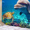 Seabed Animal Pattern Wall Decoration Tapestry - BLUE IVY