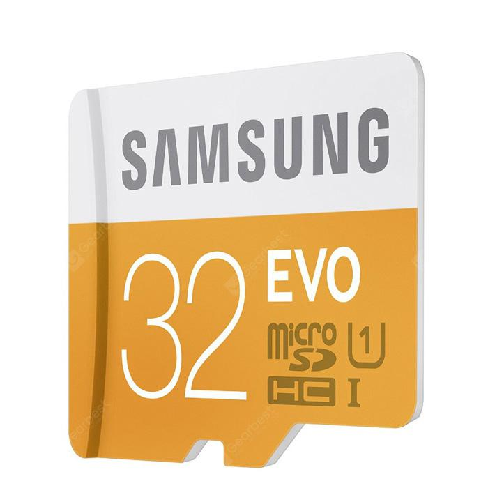 32GB Samsung Class 10 48MB/s TF / Micro SD UHS - I Memory Card | Gearbest