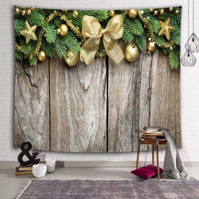 Christmas Bow RetroDecorative Tapestry