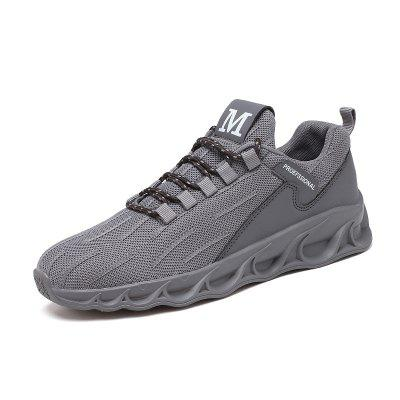Moda Masculina Casual Flying Sneakers