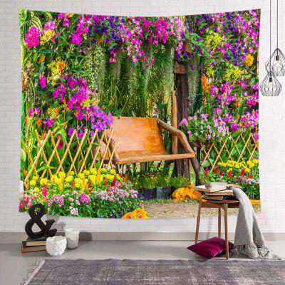 Bench Park Printed Polyester Tapestry