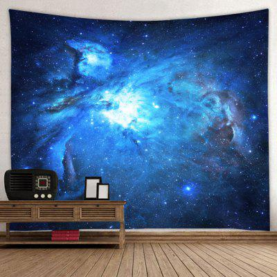 Cosmic Galaxy Starry Printed Polyester Tapestry
