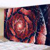 Flower Printed Tapestry Background Wall Hanging - MULTI-B