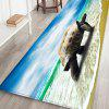 Turtle Pattern Mat Carpet - OCEAN BLUE
