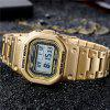 SANDA 390 Person Dial Square Men Business Business Watch for Outdoor Sports - ZLATO