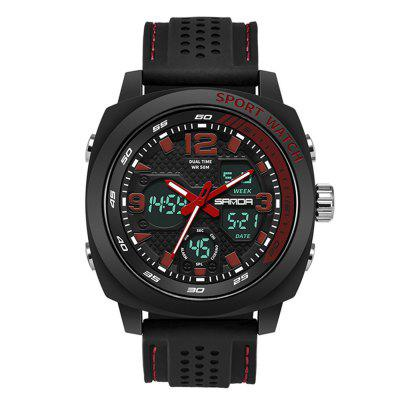 SANDA 790 Multifunções Outdoor Waterproof Men Watch