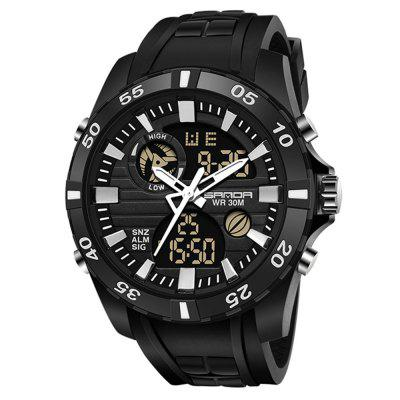 Sanda 791 Fashion Multi-function Men's Sports Watch With Luminous Function