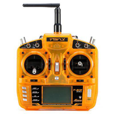 T - six 2.4GHz 6CH Transmitter for RC Models Mini Cessna 182 435mm Wingspan Airplane Kit