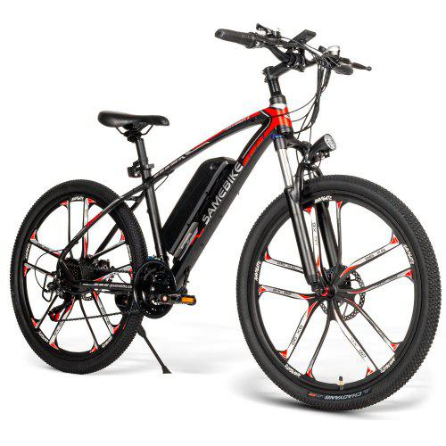Samebike MY - SM26 26 inch MTB Bicycle Electric Mountain Bike for Downhill Canyon