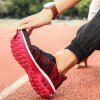 Breathable Men's Air Cushion Couple Sports Shoes - RED