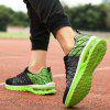 Breathable Men's Air Cushion Couple Sports Shoes - GREEN