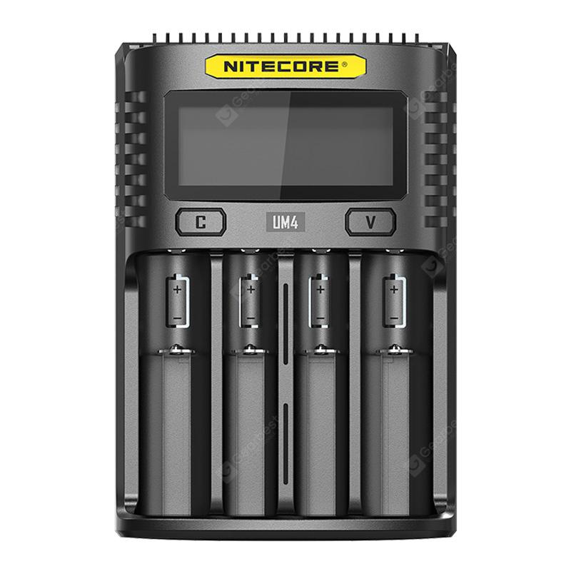 NITECORE UM4 Black Chargers Sale, Price & Reviews | Gearbest