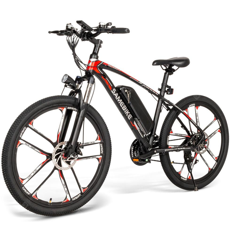 Samebike MY - SM26 26 inch Electric MTB Bike Mountain Bicycle - Black EU Plug