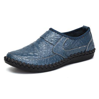 Comfortable Driving Men's Casual Handmade Leather Shoes