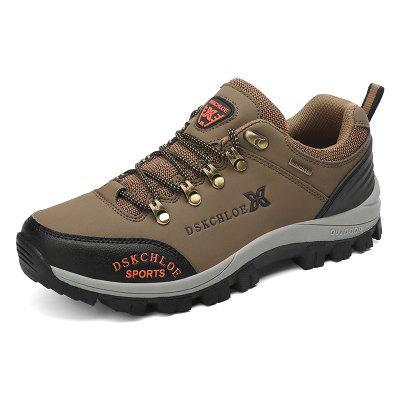 Autumn Winter Men's Round Head Outdoor Casual Shoes