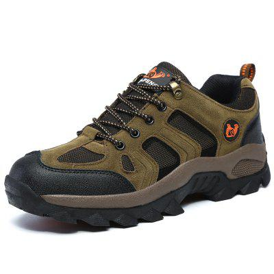 AILADUN Men's Outdoor Sports Shoes Hiking Large Size
