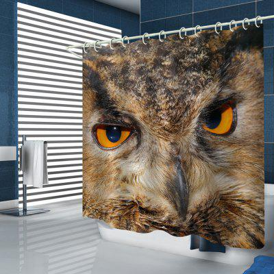 Home Eagle Pattern Shower Curtain