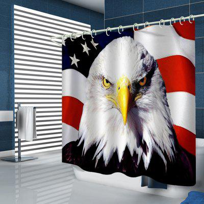 Eagle Pattern Household Shower Curtain