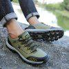 Autumn Winter Men's Round Head Outdoor Casual Shoes - ARMY GREEN