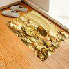 Sand Pattern Background Decorative Floor Mat Carpet - GOLDENROD