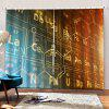 Technology Style Chemical Element Periodic Table Digital Printing Universal Curtain - MULTI-C