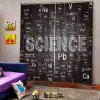 SCIENCE Digital Printing Environmental Protection Waterproof Universal Curtain - MULTI-C