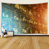 Vintage Style Chemical Elements Indoor Wall Decoration Printing Tapestry - MULTI-A
