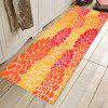 Large Flower Pattern Background Decorative Floor Mat Carpet - RED