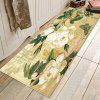 Simple Concise Style Peony Pattern Carpet - WHITE
