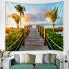 Blue Sky Path Landscape Pattern Tapestry - MULTI-A