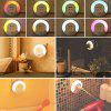 Light Control Colorful Night Creative Bedside Lamp Socket - WHITE