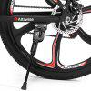 Alfawise X2 Lightweight Electric Bicycle Smart Folding Bike EU Plug - BLACK