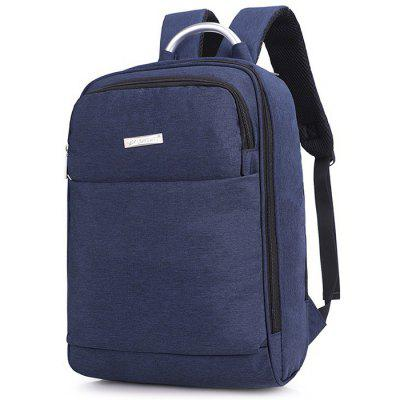 Men's Casual Oxford Backpack with Adjustable Shoulder Strap