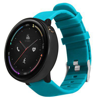 TAMISTER Official Monochrome Silicone Replacement Strap for Huami AMAZFIT Smart Watch 2 A1807 Verge 2