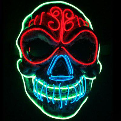 Horrible Style Glowing Mask voor Halloween-decoratie
