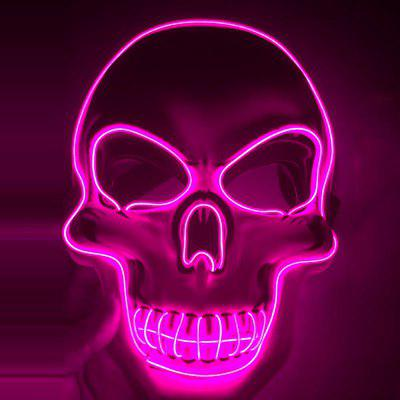 Horrible Style Glow Mask for Decoration
