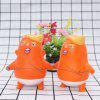 Slow Rebound Squishy Cartoon Toy PU Kinderen Educatief pop - ORANJE