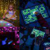 Fluorescent Painting Board Children Magic Writing Plate - MULTI
