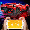 Mould King 1:8 MOC - 13079 RC Racing Car DIY Building Blocks - RED