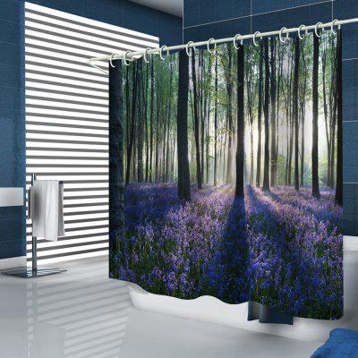 Woods + Lavender Fields Printed Shower Curtains