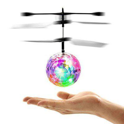Flying Crystal Ball Disco LED Light Inductie Helicopter