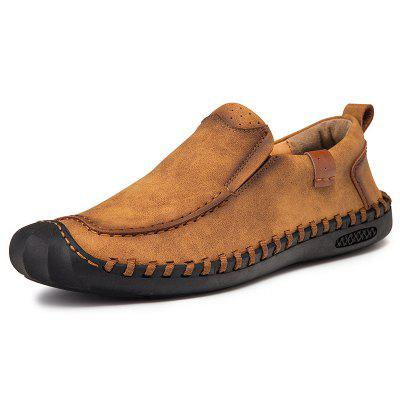 Large Size Four Seasons Handmade Casual Men's Leather Shoes
