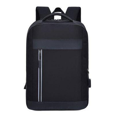 Creative Fashion Men Anti-theft Backpack with USB Charging Port